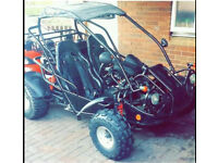 Quadzilla PGO 250cc buggy bugrider Road Legal spares or repairs!