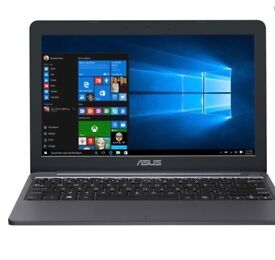 "ASUS VivoBook E203 11.6"" Intel® Celeron® Laptop - 32 GB eMMC, Grey"