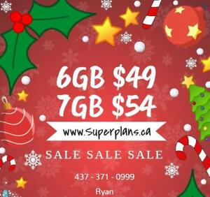 KOODO LTE 6GB $49/month and 7GB $54/month UNLIMITED TALK TEXT CANADA Plan 1/2/4/5/6/8/10 GB - SuperPlans Ryan