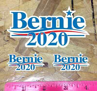 Bernie  Sanders  2020   Die Cut  Shape Cut Sticker   3  X 5 5   3 For 1