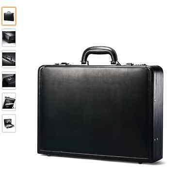 Samsonite Briefcase Expandable Vintage Laptop Case Bag Attache Bags Men Black