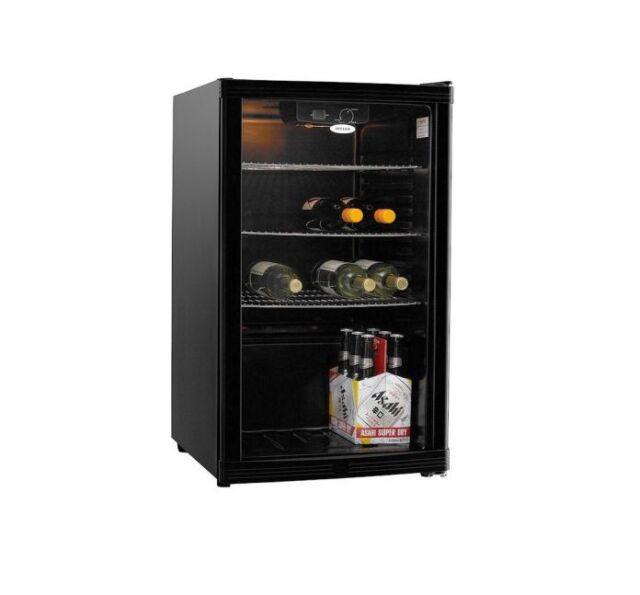 Heller HBC115B 115L Black Beverage Cooler