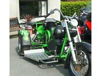 Vw trike 1900cc custom Beetle based