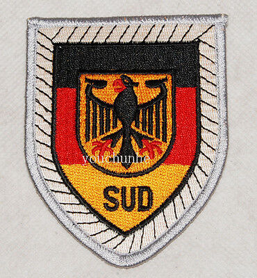 GERMAN BUNDESWEHR PANZER DIVISION EMBROIDERY PATCH INSIGNIA -32418