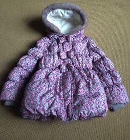 Girls Winter Coat Age 3- spotless!!