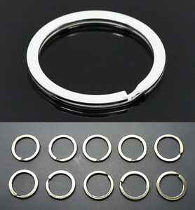 10pcs-Metal-Key-Holder-Split-Rings-Keyring-Keychain-Keyfob-Accessories-25mm-1