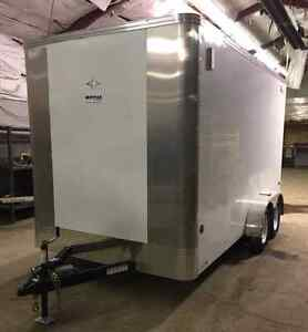 2013 Royal Flaman enclosed cargo trailer