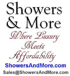 Luxurious Glass Shower Door with Hinges and Handles - New! London Ontario image 10
