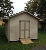 Sheds built on site