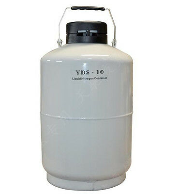 High-quality 10l Liquid Nitrogen Tank Cryogenic Ln2 Container Dewar With Straps