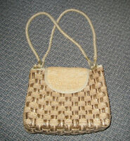 Nice real Straw Woman Bag in good condition