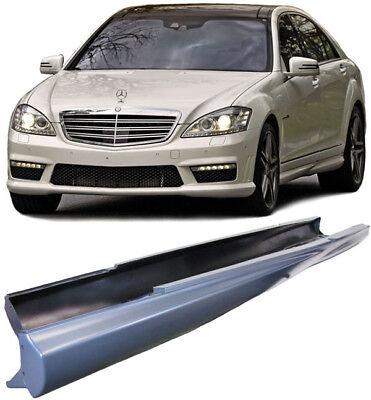 Seitenschweller Sport Ausführung - Lange Version für Mercedes S-Klasse W221