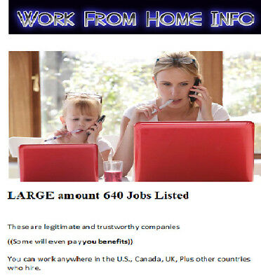 Work From Home  Work At Jobs  Work From Home Job How To Make Money  640 Jobs Wow