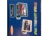 TFT In car single din dvd/tv screen