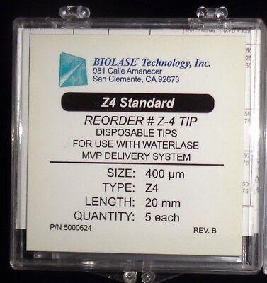 New Biolase Laser Tips Z4 20mm 400um 20 Tips. New