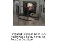 Fire guard/safety gate/fence