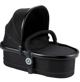 Icandy peach blossom (twin) carrycot. Black-jet 2. Used about 5 times!!...so immaculate condition!!