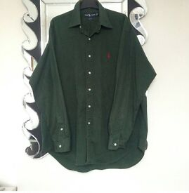 Large Ralph Lauren green shirt