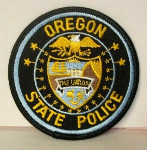 OREGON STATE  POLICE OFFICER  patch