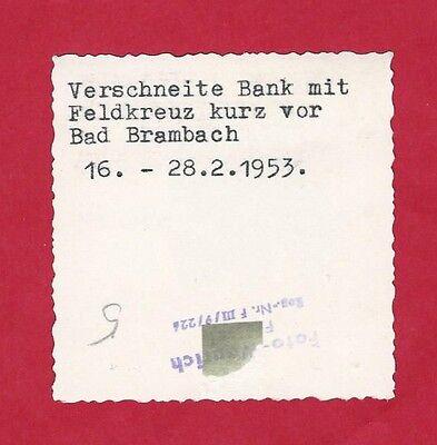 18/110 FOTO BAD BRAMBACH FELDKREUZ 1953