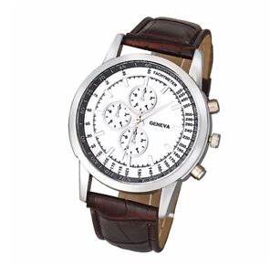 Men's Quartz Geneva Watch