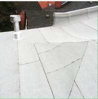 Is your flat roof leaking? We can help!!