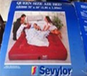Sevylor Inflatable Queen Size Mattress and Pump St Clair Penrith Area Preview