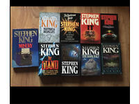 Stephen King Books Job Lot