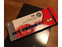 Oil paints set of 12 - brand new