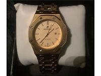 Gold AP watch