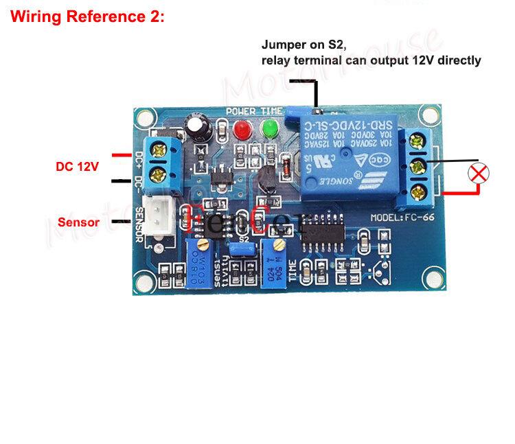 DC 12V Adjustable light sensor switch photoresistor control relay ...