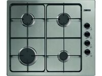 Gas Hob, Zanussi, £60, very good condition.