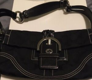 Black Coach Purse!!