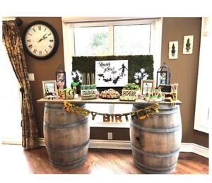 Wine Barrels for rent Wine Barre Table