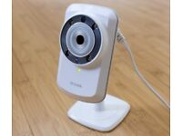 Dlink security camera, great for watching babies or pets.