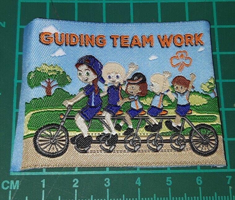 Guiding Team Work Girl Guide Badge