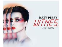 Katy perry standing tickets x 4