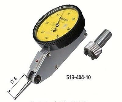 Mitutoyo 513-404-10e Dial Test Indicator 0.8mm Range 0.01mm Graduation