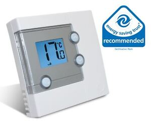 Salus RT300 Digital Display LCD Electronic Room Thermostat for Central Heating