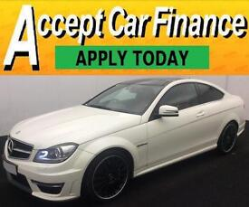 Mercedes-Benz C63 AMG FROM £160 PER WEEK!