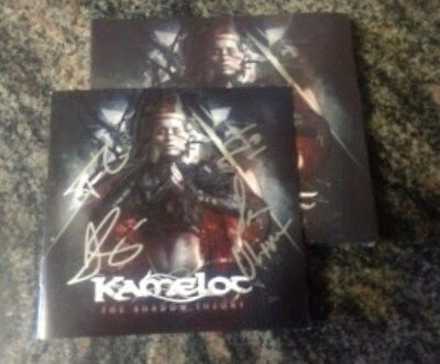 KAMELOT The Shadow Theory Deluxe Edition 2CD With Autographed Booklet last one