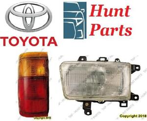 Toyota 4Runner 1989 1990 1991 1992 1993 1994 1995 CATALYTIC CONVERTER HEAD LAMP HEAD LAMP SIDE MARKER TAIL LAMP LIGHT