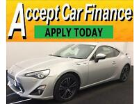 Toyota GT86 FROM £72 PER WEEK!
