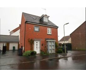FOUR BEDROOM DETACHED HOUSE, WITH GARDEN FOR SALE