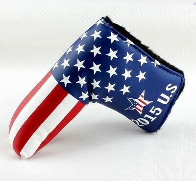 Golf Putter Head Cover Magnetic Blade Covers For Cameron Odyssey Taylormade Gift Magnetic Blade Putter Cover