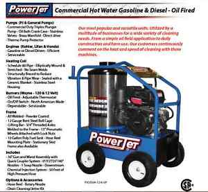 HOT WATER PRESSURE WASHER SPECIAL OFFER