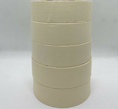 12 Rolls General Purpose Painters White Masking Tape 1.41 Inches X 60 Yards
