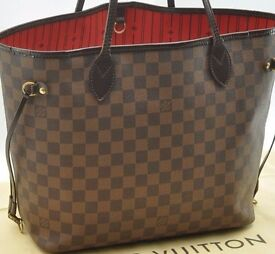Louis Vuitton Neverfull GM ( Largest ) with detachable clutch purse and LV Dustbag