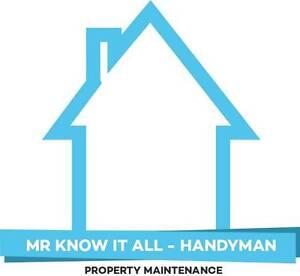 Mr Know It All - Handyman Hobart Region Preview