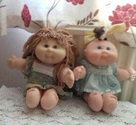 Original Cabbage Patch Dolls